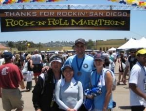 Rock n' Roll San Diego Marathon 2008
